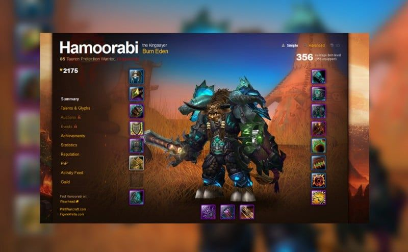 A Primer on How WoW Characters Can Make Weapons and Armor